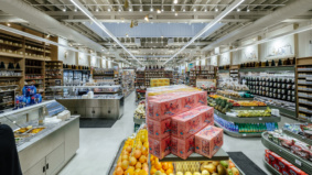 Inside the new 6,000-square-foot location of Summerhill Market, just steps from Bathurst Station