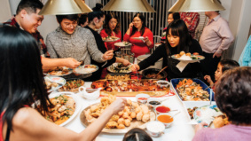 Holiday Parties: How chef Craig Wong and family celebrate Chinese New Year
