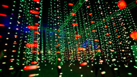 A look at the most dazzling displays at the Toronto Light Festival in the Distillery District