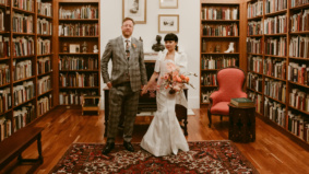 Real Weddings: Inside a sophisticated celebration at the Toronto Reference Library