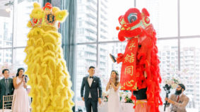 Real Weddings: A contemporary King West party with traditional Chinese flair