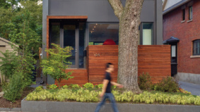 Green Design: This midtown house was totally rebuilt from the top down