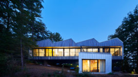Green Design: This net-zero Stoney Lake cottage blends into the landscape