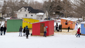A look at the colourful outdoor Ice Box festival in Prince Edward County
