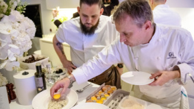 Here's what went down at a $5,000-per-person dinner with Michelin-starred chef Oliver Glowig