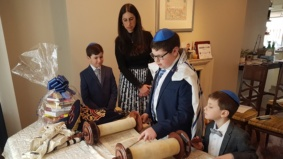 """It was sad but also a relief"": This family hosted their son's bar mitzvah over Zoom"