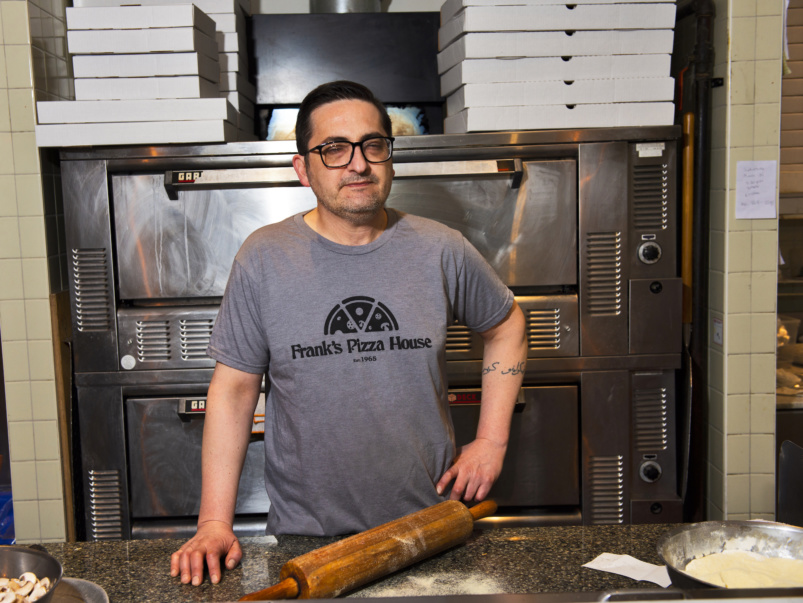 """""""We rough it out and see what happens"""": How a pizzeria owner is reckoning with a personal health crisis while trying to keep his business open"""