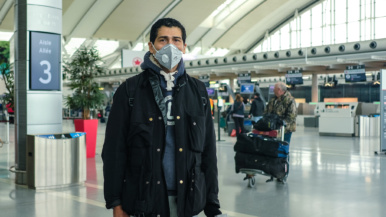 """""""I brought enough hand sanitizer"""": Why these people are still flying out of Pearson"""
