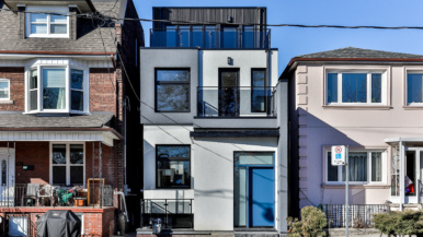 House of the Week: $3.5 million for a newly built Christie Pits home with a bougie interior