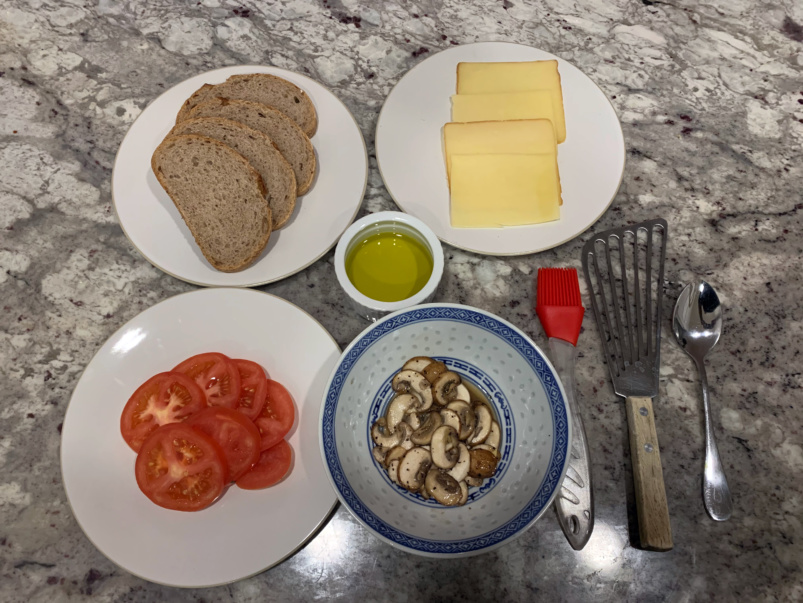 Quarantine Cuisine: How True True Diner chef Suzanne Barr snazzes up a grilled cheese sandwich