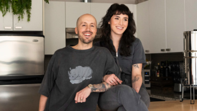 Inside the kitchen of Alex Courts, the chef and owner of vegan bakery Sweet Hart Kitchen