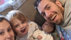 """""""My midwives gave me the big blue pads that people use for puppies"""": When Covid hit, this Toronto mom changed her plan and decided to give birth at home"""