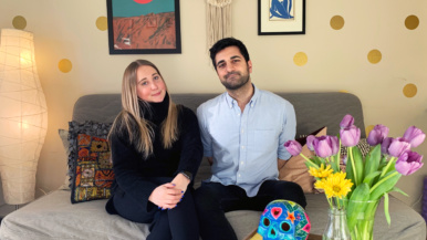 """""""I do yoga on the balcony"""": How a marketer and a pharmacy technician are quarantining in 400 square feet"""