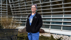 """""""My fingers are crossed that we've slowed down the spread"""": An ICU nurse describes what it's like to treat Covid cases"""
