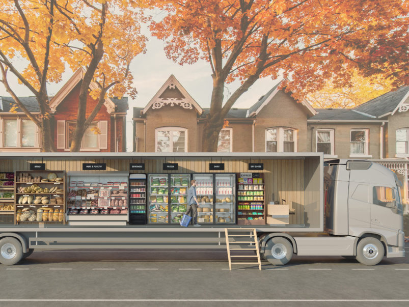"""""""Mobile is the way of the future"""": A Q&A with the owner of Grocery Neighbour, the new supermarket on wheels hitting Toronto's streets soon"""