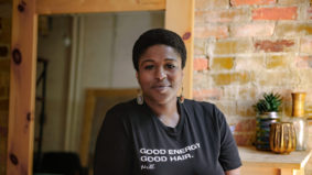 """""""We're in a pandemic. Now we have to respond to trauma in a pandemic"""": Why this hairstylist transformed her salon into a wellness hub for Black women"""
