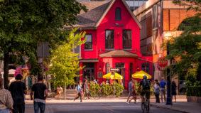 Bloor-Yorkville is definitely open for summer