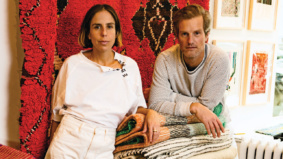 Mellah is a neighbourhood destination for exquisite Moroccan rugs—and delicate hand towels