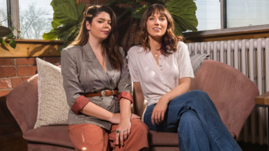 """""""Being on Netflix would be a dream"""": Kelsey MacDermaid and Becky Wright produce epic renovation shows for YouTube"""