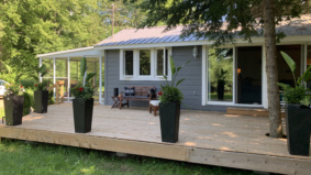 A couple just bought this $385,000 Haliburton cottage. Why? The pandemic delayed their wedding