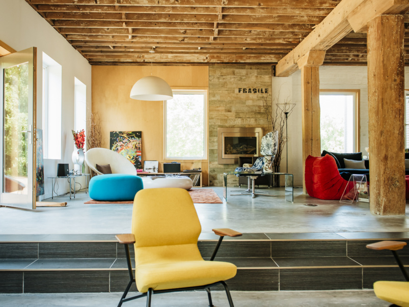 How one couple turned a decrepit old canning factory into the perfect pandemic retreat