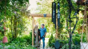 This couple built a huge backyard paradise