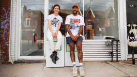 """""""Take what you need, leave what you don't"""": How two friends are helping to combat hunger in Toronto, one community fridge at a time"""