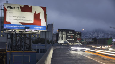This guy is plastering billboards in Silicon Valley to lure tech workers to Canada