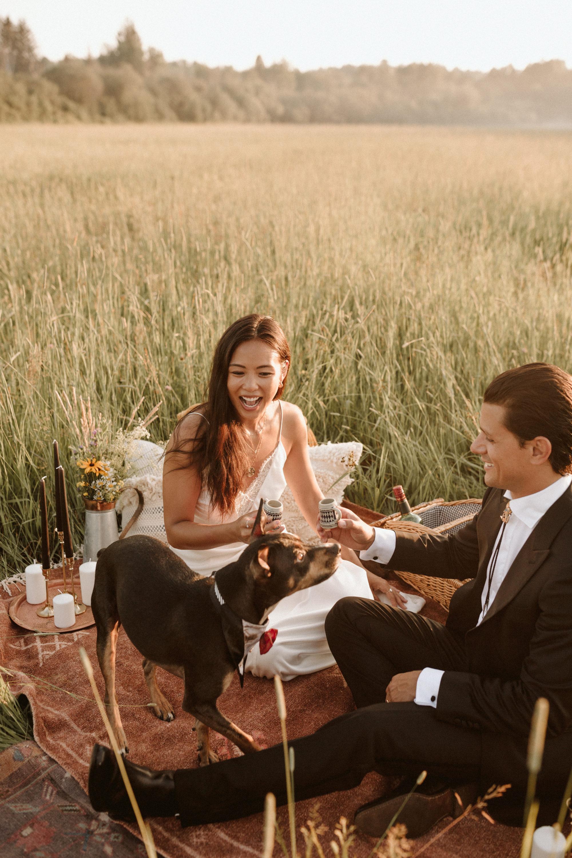 Photo from Peter Sowagi and Carmen Tsang's wedding day