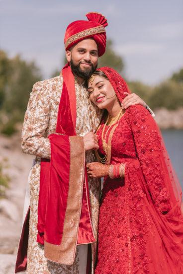 Faraz and Malaika's wedding