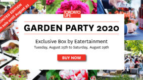 <em>Toronto Life</em> Garden Party 2020 Box by Eatertainment on sale now until August 22