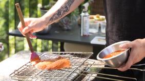 Backyard BBQ: How Hexagon chef Rafa Covarrubias makes his al pastor fish tacos