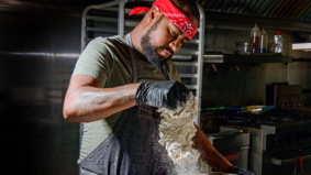 Backyard BBQ: How chef Jerome Robinson makes his picnic-perfect fried chicken