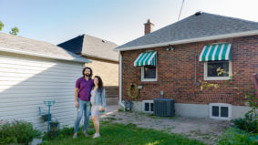 This couple got pregnant during the pandemic—so they bought an $850,000 bungalow in East York