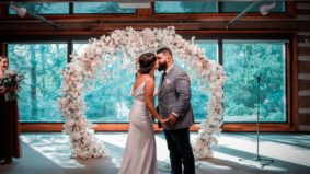After their Airbnb wedding venue shut down, they had to plan another ceremony in eight days