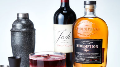 Elevate your classic cocktail repertoire with the Redemption New York Sour