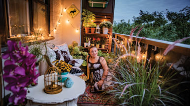"Adventures in real estate: ""I turned my balcony into  an oasis"""