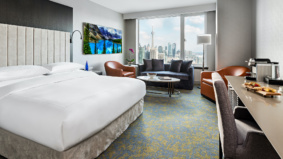 Toronto hotels are renting out work suites by the day. Here's a look inside
