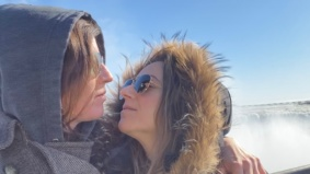 """""""The borders closed after our second date"""": How this cross-border couple kept their romance alive during the pandemic"""