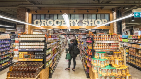 Inside Farm Boy's first downtown Toronto store, at Bay and College