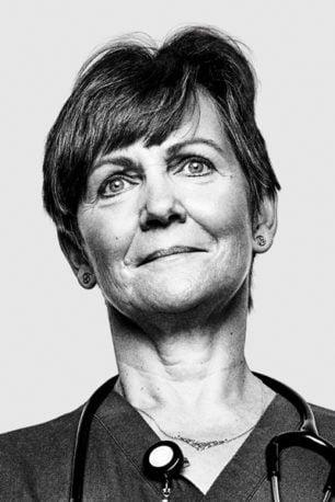 Portrait of Gillian Gravely