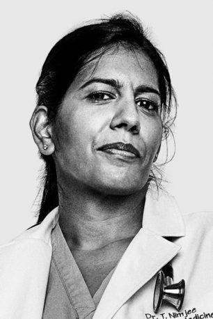 Portrait of Tasleem Nimjee