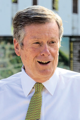 Portrait of John Tory