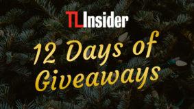 TL Insider's 12 Days of Giveaways