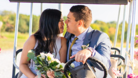 Real Weddings: Inside a secret elopement at a glamping resort in Grafton