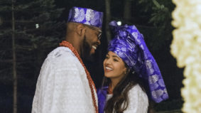Real Weddings: Inside a two-day Nigerian-Indian backyard affair