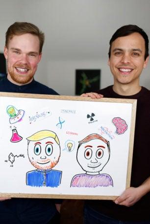 Portrait of Greg & Mitch