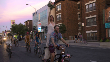 Real Weddings: Inside an intimate Don River celebration with a 20-kilometre bike parade
