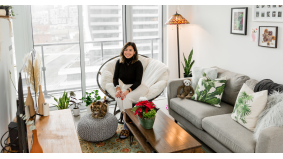 This Uber account executive makes $90,000 a year. How does she spend her money?