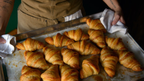 Sort-of Secret: Breadhead, a one-woman bakery selling sourdough bread, croissants, cinnamon buns and doughnuts